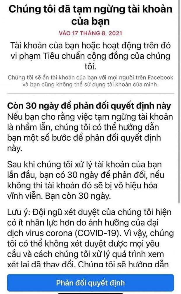 Nghi vấn một nữ streamer nổi tiếng Việt Nam bị khóa Facebook vì share link clip nhạy cảm, thực hư ra sao? - Ảnh 1.