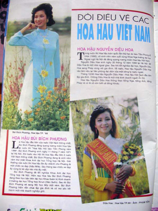 SIÊU HIẾM: Ảnh tạp chí và clip đăng quang của loạt Hoa hậu Việt Nam thập niên 80 - 90, kiểu tóc lẫn trang phục có lồng lộn như bây giờ? - Ảnh 6.