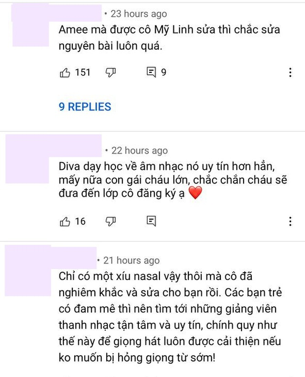 Diva Mỹ Linh dạy học trò hát #XHTĐRLX thế nào mà netizen chê bản gốc của AMEE, khẳng định phải sửa nguyên bài? - Ảnh 4.