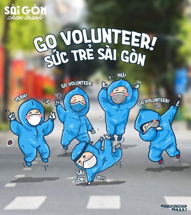 """Vào coi bộ tranh """"Sài Gòn chơn thành"""" có siêu năng lực khiến bạn mỉm cười trong tích tắc nè! - Ảnh 9."""