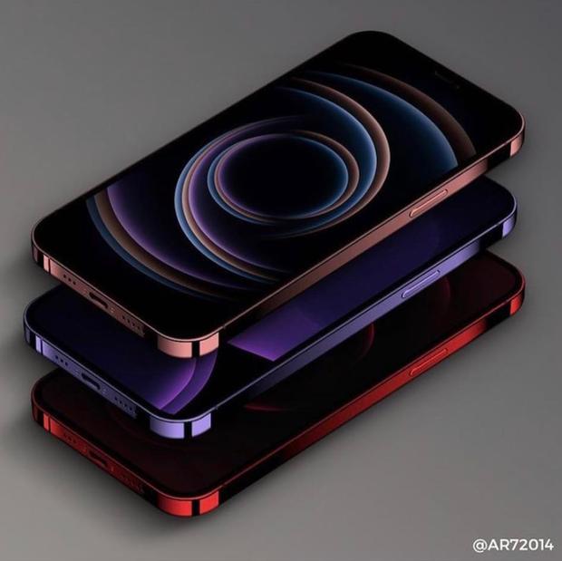Rò rỉ concept iPhone 13 màu tím cực sang chảnh, nhìn là muốn chốt đơn ngay! - Ảnh 1.