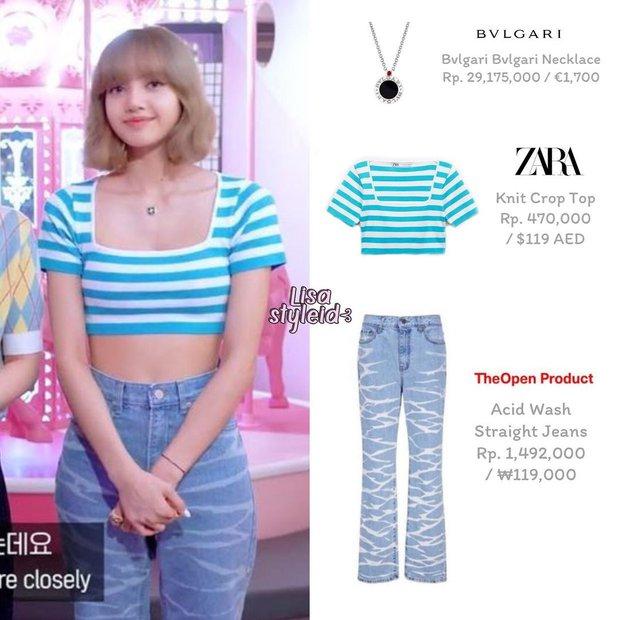 Lisa diện áo Zara xinh xỉu mà lại đang sale 50% chỉ còn 299k, tội gì không mua ngay bạn ơi - Ảnh 2.