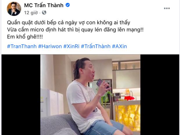 """Hari Won 7749 lần lộ chi tiết nghi vấn mang thai, nay Trấn Thành bỗng gây xôn xao khi nhắc đến """"con""""? - Ảnh 2."""