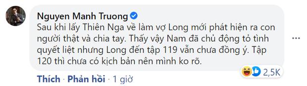Shark Long tiết lộ hồi kết Hương Vị Tình Thân: Long ly dị vợ, Nam đòi tái hợp nhưng anh đây còn làm giá? - Ảnh 1.