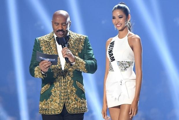 Hoàng Thùy từng định dùng ca dao hoa dâm bụt tại Miss Universe, lí do thay đổi liên quan tới một người đẹp khác? - Ảnh 1.