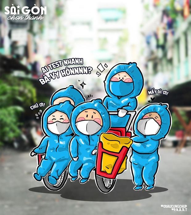 """Vào coi bộ tranh """"Sài Gòn chơn thành"""" có siêu năng lực khiến bạn mỉm cười trong tích tắc nè! - Ảnh 8."""