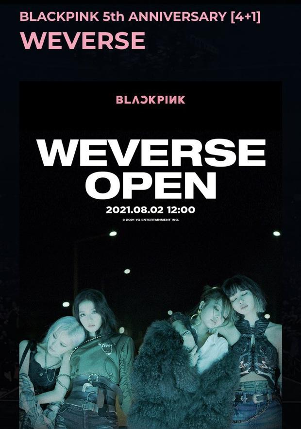 BLACKPINK gặp sự cố ngay ngày đầu gia nhập nền tảng mới, fan các nhóm nhạc tranh cãi dữ dội vì phải nhận thông báo lạ? - Ảnh 1.