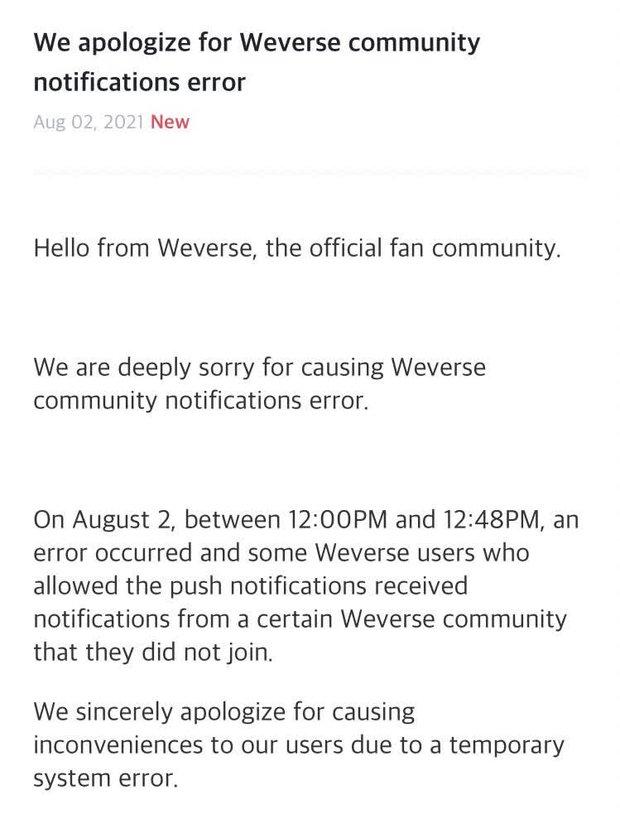 BLACKPINK gặp sự cố ngay ngày đầu gia nhập nền tảng mới, fan các nhóm nhạc tranh cãi dữ dội vì phải nhận thông báo lạ? - Ảnh 3.