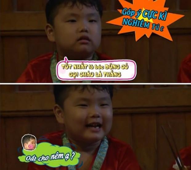 Cậu bé bánh bao Bi Béo nhà Xuân Bắc 5 năm trước đã có loạt phát ngôn cực bá đạo tại Bố Ơi Mình Đi Đâu Thế? - Ảnh 8.