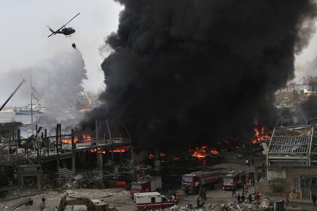 Một năm sau thảm họa ở cảng Beirut, những vết thương để lại vẫn chưa lành - Ảnh 7.
