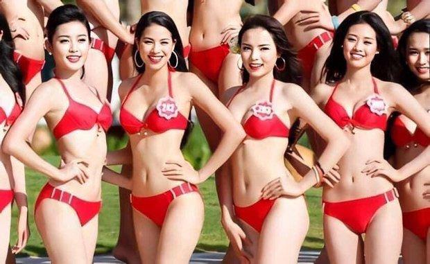 Bức ảnh đọ sắc tiên tri từ 7 năm trước: Phạm Hương - Khánh Vân bại trận trước Kỳ Duyên, ai dè cả 3 đều thành Hoa hậu - Ảnh 2.