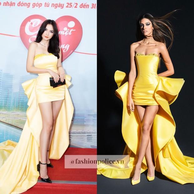 NTK Việt lập kỷ lục khi liên tục đạo nhái trắng trợn hàng hiệu, loạt Hoa hậu và sao Vbiz nằm không cũng dính đạn - Ảnh 6.
