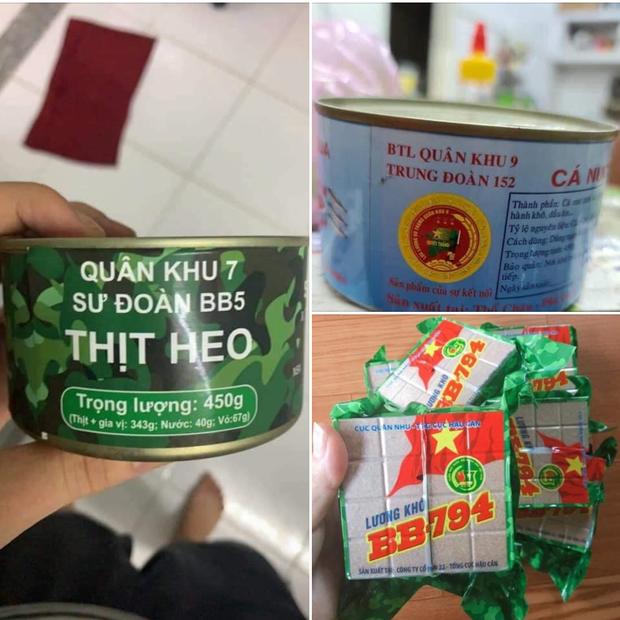 Cận cảnh lon thịt hộp Quân Khu 7 và những món ăn có trong balo của bộ đội Việt Nam, người từng thưởng đã có review luôn rồi đây!  - Ảnh 1.