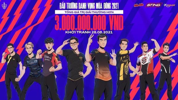 Giải Esports số 1 Việt Nam - Đấu Trường Danh Vọng chính thức trở lại vào ngày 28/8, tổng giải thưởng hơn 3 tỷ đồng - Ảnh 1.