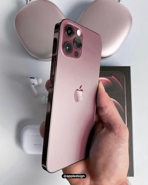 Mô hình thực tế iPhone 13 màu hồng cực đẹp, chị em chuẩn bị chốt đơn thôi! - Ảnh 1.