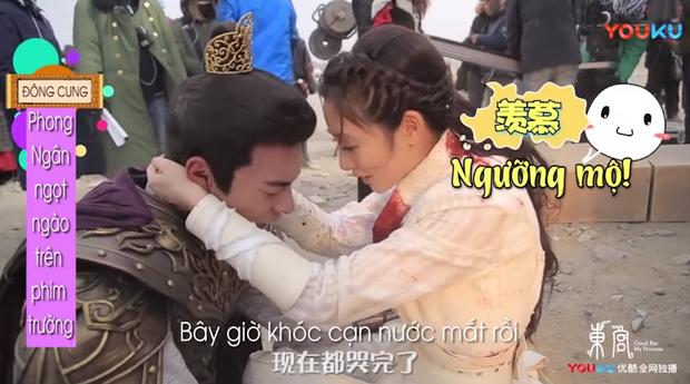 Hot lại hậu trường ngược tâm nhất Đông Cung: Lý Thừa Ngân khóc suýt hôn mê, Tiểu Phong dỗ ngọt 3 câu mà nín ngay - Ảnh 8.