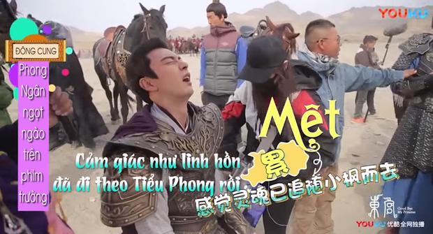 Hot lại hậu trường ngược tâm nhất Đông Cung: Lý Thừa Ngân khóc suýt hôn mê, Tiểu Phong dỗ ngọt 3 câu mà nín ngay - Ảnh 4.