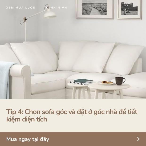5 tips với ghế sofa giúp nhà chật nhìn rộng hơn và sang lên vài bậc - Ảnh 5.