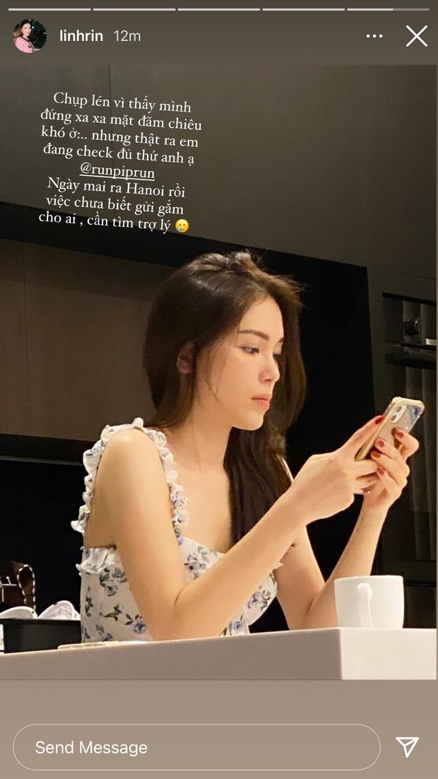 Thiếu gia nhà tỷ phú đăng ảnh Linh Rin, netizen zoom mỏi tay mới biết cô nàng đang làm gì - Ảnh 3.