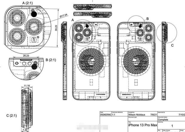 Nóng: iPhone 13 lại rò rỉ thêm thiết kế, phải nói là đỉnh của chóp - Ảnh 4.