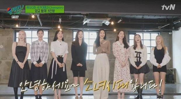 Taeyeon bị Sooyoung bóc phốt thẳng mặt về câu chuyện visual, fan SNSD sướng rơn khi thấy các chị battle nhau sau 4 năm - Ảnh 1.
