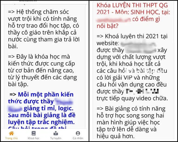Biến căng: Thầy giáo Sinh nổi tiếng, từng ra đề thi THPT Quốc gia bị tố thu học phí cao nhưng dạy vô trách nhiệm, 4 tháng gửi được 3 video - Ảnh 3.
