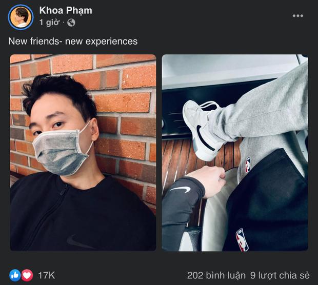Karik khoe visual long lanh tại Hàn sau loạt tin nhắn nhõng nhẽo với mẹ - Ảnh 1.