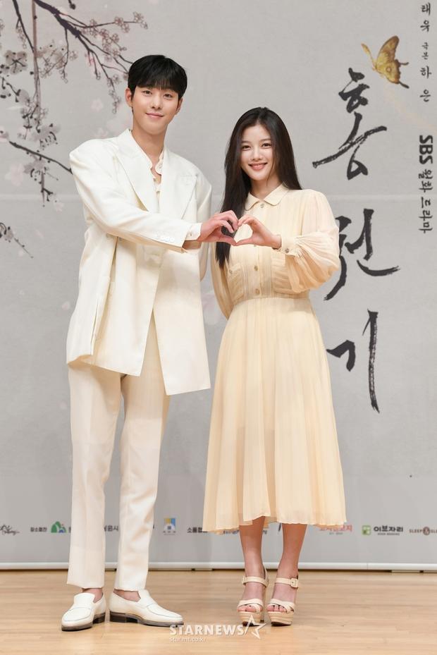 Sự kiện biến thành bữa tiệc visual: Sao nhí một thời Kim Yoo Jung tái xuất xinh xỉu, Ahn Hyo Seop như cây sào át cả 2 tài tử cực phẩm - Ảnh 6.