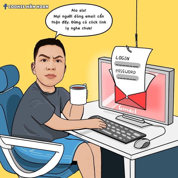 Hiếu PC tiếp tục cảnh báo 6 hình thức lừa đảo phổ biến, nhưng nay đã có thêm hình minh họa siêu dễ thương - Ảnh 1.