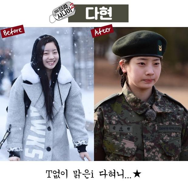 Mặt mộc sao nữ Hàn đi show quân đội: Lisa & ác nữ Penthouse đẹp xuất sắc, gây sốc nhất là người cuối cùng! - Ảnh 14.