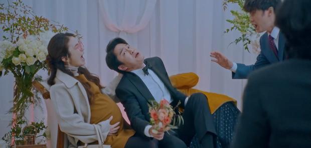 Cười bể bụng với 3 đám cưới có 1-0-2 ở phim Hàn: Hôn lễ bị thổi bay trong Penthouse thành huyền thoại meme - Ảnh 3.