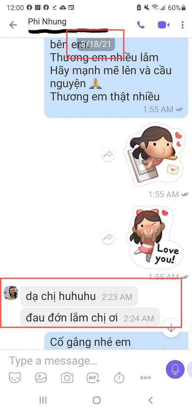 Lộ tin nhắn Phi Nhung kêu Đau lớn lắm, con gái ruột phản ứng ra sao khi biết tin mẹ nhiễm Covid-19? - Ảnh 2.