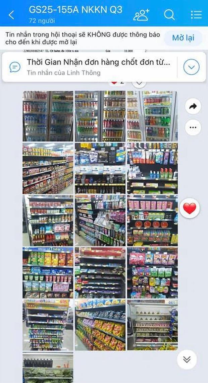 Thiên thần mùa dịch gọi tên nhân viên 7-Eleven, Circle K, VinMart...: Gửi ảnh từng kệ hàng cho khách, đặt online mà tiện như đi mua trực tiếp - Ảnh 4.