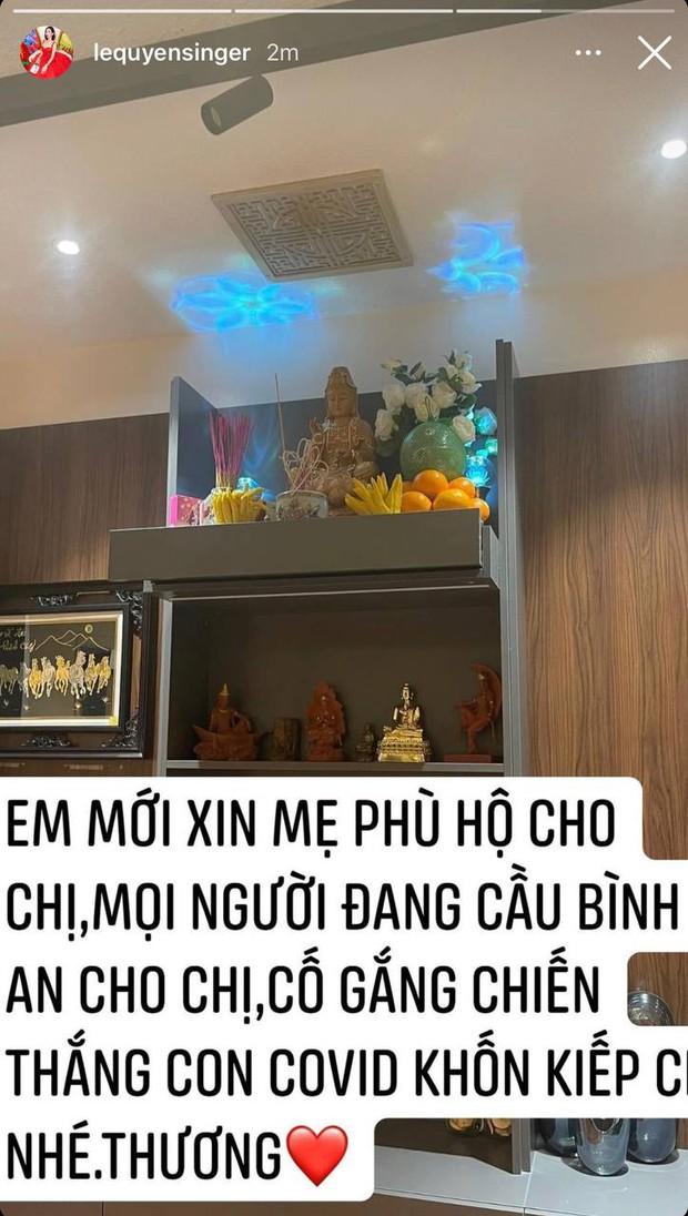 Lệ Quyên, Phương Thanh và cả showbiz đang hướng về Phi Nhung, cầu nguyện cho nữ ca sĩ qua cơn nguy kịch - Ảnh 3.