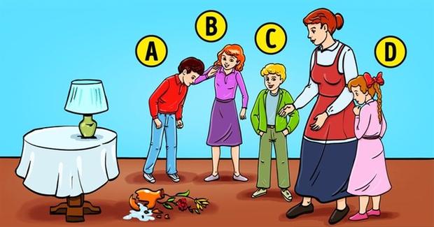 Quiz: Ai là người làm vỡ bình hoa? Câu trả lời sẽ tiết lộ rất nhiều điều về trí thông minh, khả năng quan sát và trực giác của bạn - Ảnh 1.
