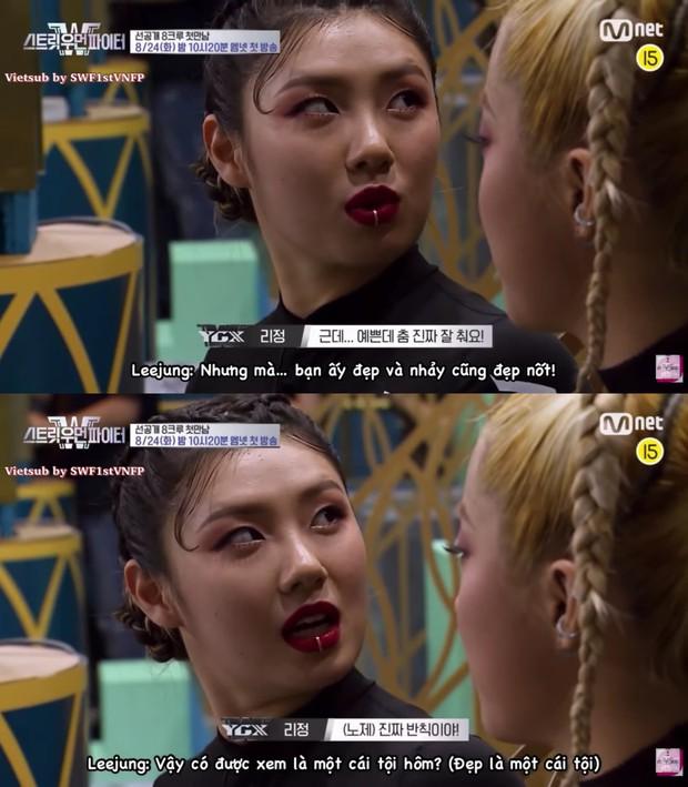 Nữ vũ công của Kai (EXO) bị đối thủ chặt đẹp trên truyền hình: Nếu không xinh đẹp liệu có nổi tiếng? - Ảnh 6.
