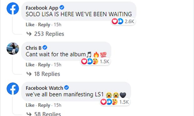 Hoá ra nhân vật đặc biệt này cũng là fan cứng của Lisa (BLACKPINK), comment thả thính từ Facebook đến Twitter và cả Instagram? - Ảnh 4.
