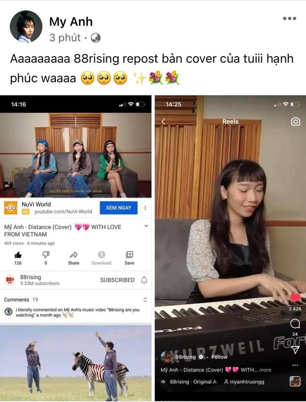 Diva Mỹ Linh chia sẻ bản cover của Mỹ Anh đầy tự hào, nhưng sao lại bị gỡ khỏi YouTube mất rồi? - Ảnh 5.