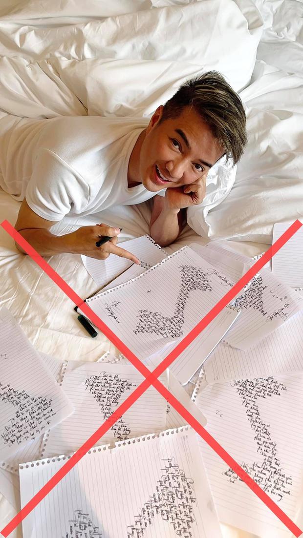 Cộng đồng mạng phẫn nộ vì Đàm Vĩnh Hưng quên quần đảo Hoàng Sa - Trường Sa khi đăng ảnh khoe viết lời bài hát mới theo hình chữ S - Ảnh 2.