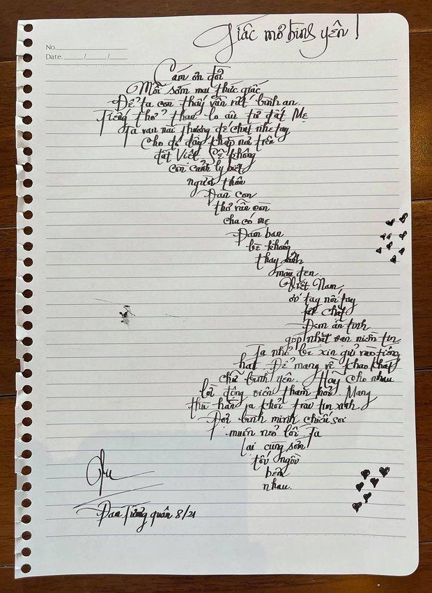 Cộng đồng mạng phẫn nộ vì Đàm Vĩnh Hưng quên quần đảo Hoàng Sa - Trường Sa khi đăng ảnh khoe viết lời bài hát mới theo hình chữ S - Ảnh 3.