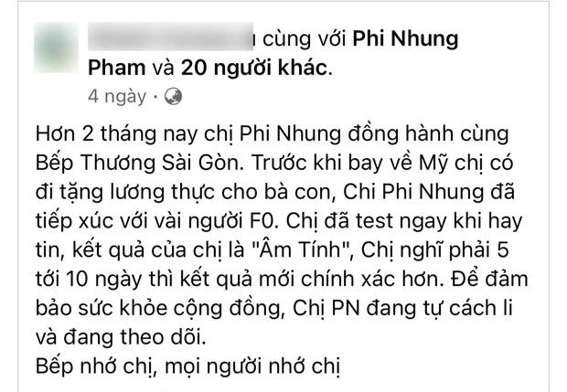 Chia sẻ cuối cùng của Phi Nhung trước khi qua đời: Xin lỗi khán giả, nói về lý do nhiễm Covid-19 - Ảnh 3.