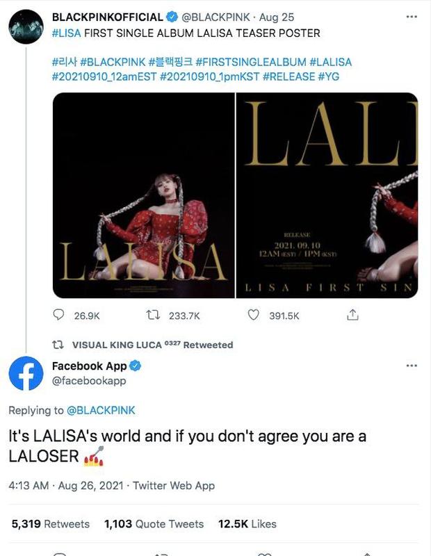 Hoá ra nhân vật đặc biệt này cũng là fan cứng của Lisa (BLACKPINK), comment thả thính từ Facebook đến Twitter và cả Instagram? - Ảnh 6.