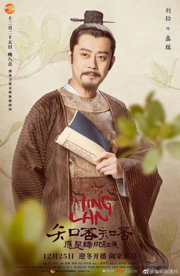Phim vô danh bị tố đạo poster Minh Lan Truyện đến 99%, fan còn tưởng Triệu Lệ Dĩnh có thính mới mà không nói - Ảnh 6.
