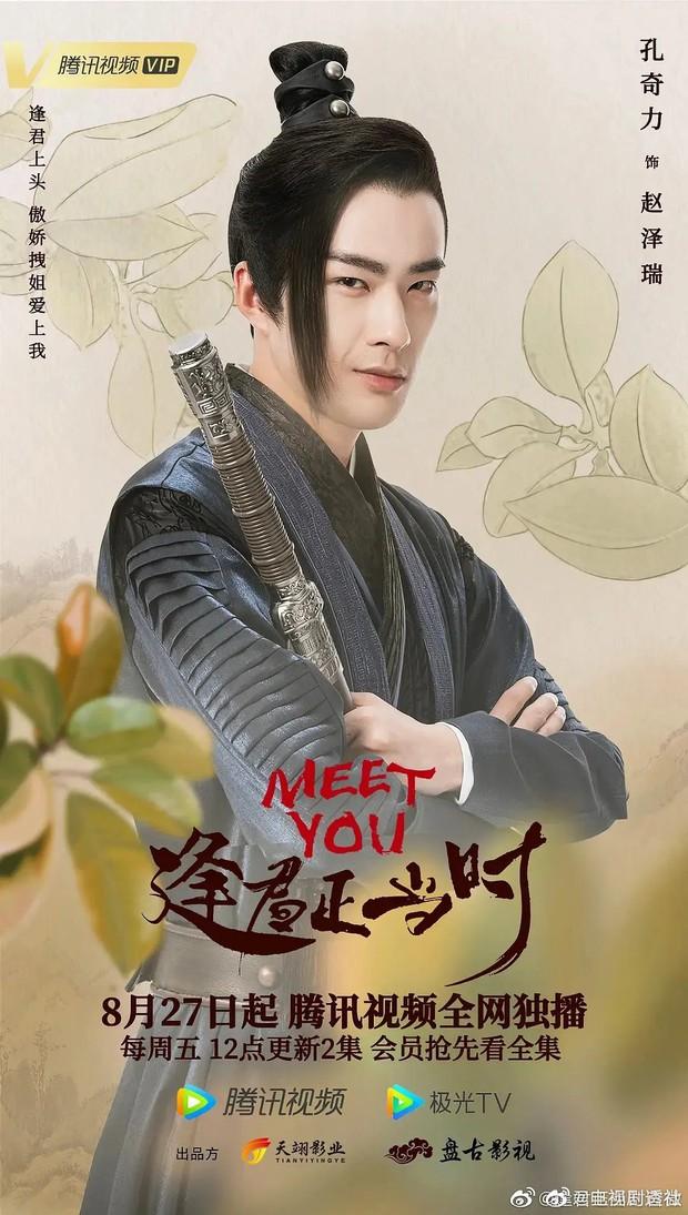 Phim vô danh bị tố đạo poster Minh Lan Truyện đến 99%, fan còn tưởng Triệu Lệ Dĩnh có thính mới mà không nói - Ảnh 3.