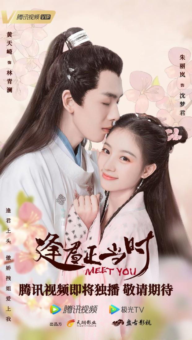 Phim vô danh bị tố đạo poster Minh Lan Truyện đến 99%, fan còn tưởng Triệu Lệ Dĩnh có thính mới mà không nói - Ảnh 1.
