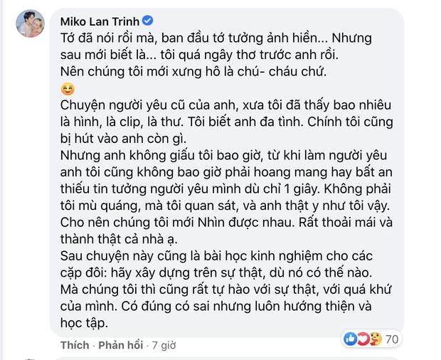 Bạn trai chuyển giới bị tung bằng chứng bắt cá 2 tay, có cả chuyện 18+, Miko Lan Trinh phản ứng ra sao? - Ảnh 3.