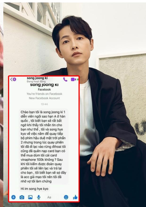 Thực hư Song Joong Ki, G-Dragon nhắn tin xin fan Việt donate, đọc thì cười xỉu nhưng cần cảnh giác điều này! - Ảnh 2.
