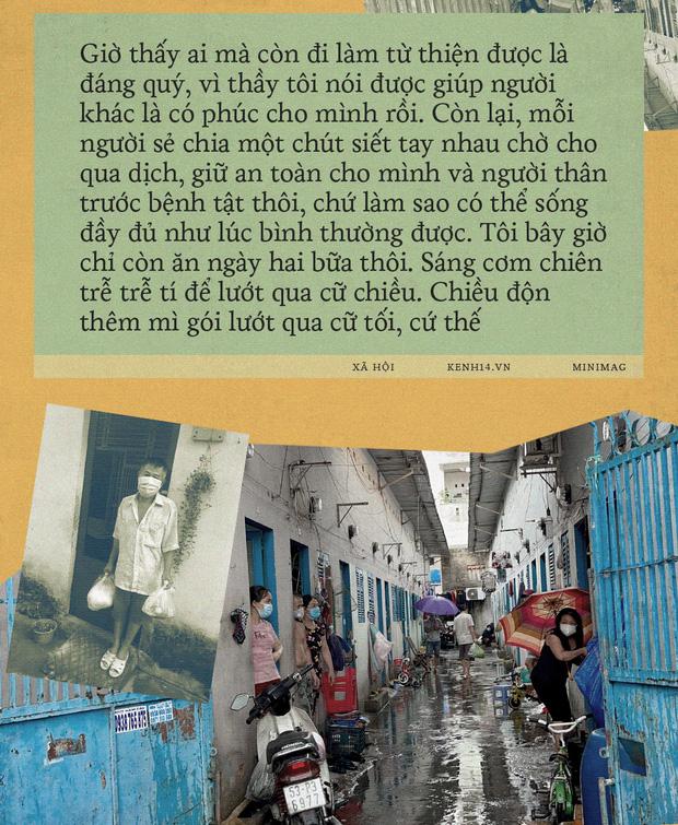 """Càng siết giãn cách, Sài Gòn càng siết tay nhau: """"Mình xem đâu là nhà thì sẽ có cách biến hóa để tồn tại"""" - Ảnh 6."""