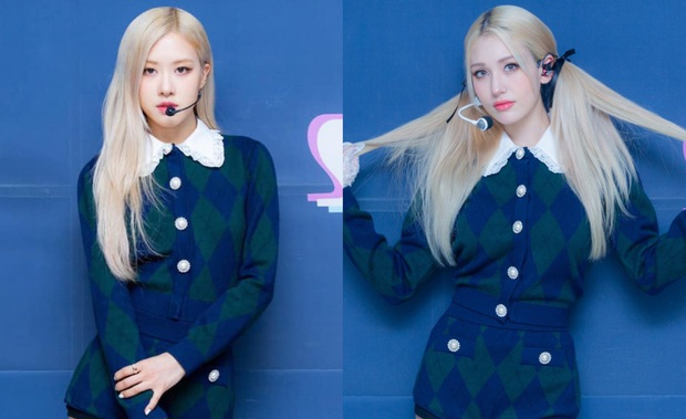Không biết vô tình hay cố ý mà Somi mặc outfit y chang Rosé (BLACKPINK)? - Ảnh 4.