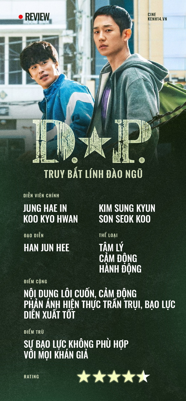 D.P. - Truy Bắt Lính Đào Ngũ: Jung Hae In bùng nổ trong bộ phim truyền hình đen tối, trần trụi xuất sắc của truyền hình Hàn - Ảnh 11.